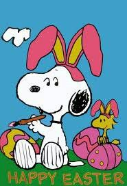 Snoopy & Easter