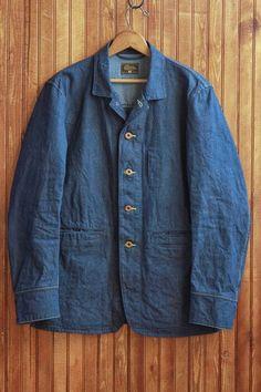 Denim Tailored Coat