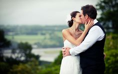 The Kiss - Photographed at the stunning Pentillie Castle in Cornwall (with River Tamar behind!). Andrew Rowe Photography