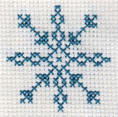 Free Yarn Snowflake Crochet Pattern - Orble, You can create really unique patterns for textiles with cross stitch. Cross stitch versions can almost impress you. Cross stitch novices can make the versions they desire without difficulty. Tiny Cross Stitch, Easy Cross Stitch Patterns, Cross Stitch Tree, Cross Stitch Cards, Simple Cross Stitch, Cross Stitch Kits, Cross Stitch Designs, Cross Stitching, Cross Stitch Embroidery
