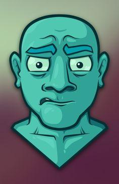 vector face