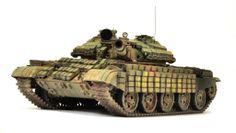 Syrian T-62MV 1/35 Scale Model