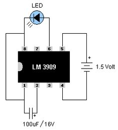 LED Flashers Circuits and Projects using transistor