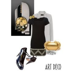Nº 21 Art Deco Brooch