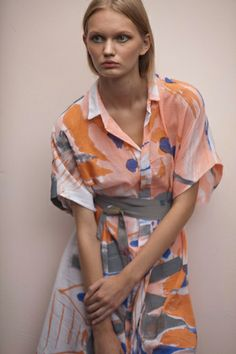 Wearable Paintings   |The Dress Project, started in 2011, is Fort Maker's fashion line, in which various artists create wearable art, most notoriously Naomi Clark designs and creates painted fabric compositions that are then turned into dresses, scarfs and blankets.