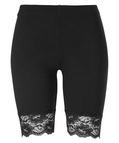 * Gina Tricot - Lilly bikerpants w. lace
