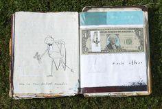 Oliver Jeffers' moleskine illustrations