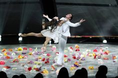 """Top 14 contestants Audrey Case and Matthew Kazmierczak perform a Contemporary routine to """"Time"""" choreographed by Mia Michaels on SO YOU THINK YOU CAN DANCE."""
