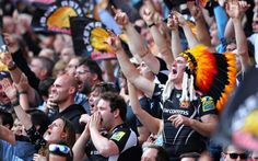 """Exeter Chiefs Rugby Club has come under fire for its """"offensive"""" name. Peter Blake Artist, Exeter Chiefs, Blonde Weave, Queen's College, Rugby Club, Cultural Appropriation, Muddy Waters, Chuck Berry, Cultural Identity"""