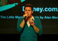 "Nick Pitera at D23.  He sings all the parts of ""Kiss the Girl"", unbelievable!"