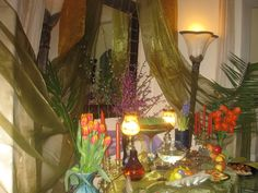 Another alter for Persian New Year Dr. Ahmadi's wife.
