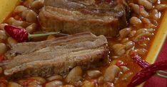 A zsidók fejedelmi fogása, a kiadós sólet lassan sül, és tojással, füstölt hússal az igazi. Meat Recipes, Cooking Recipes, Hungarian Recipes, Pressure Cooker Recipes, Main Dishes, Steak, Bacon, Food And Drink, Pork
