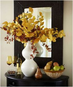 decorar en otoño
