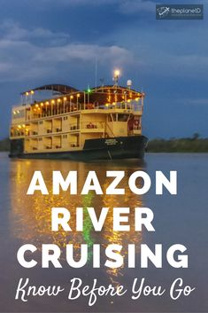 Everything you need to know when researching and planning an Amazon River Cruise in Peru. Different from a traditional luxury cruise, cruising the Amazon River is all about experiencing the surrounding rainforest's wildlife, culture and beauty. Adventure travel in South America. | Blog by the Planet D #Peru #SouthAmerica