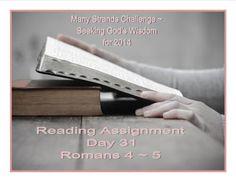 Seeking God's Wisdom - Day 31