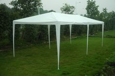 3x6m-White-Gazebo-Canopy-Marquee-Outdoor-Waterproof-Awning-Garden-Party-Tent-PE