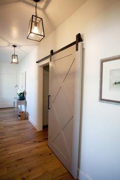 Would love a sliding barn-style door on my bathroom.