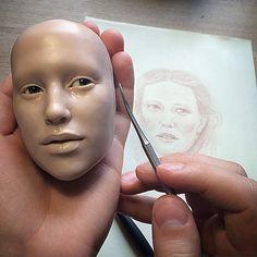 Нереальная реальность - авторские куклы Михаила Зайкова-6