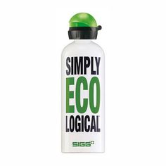 Need I say more? I carry one of these around everywhere I go. Cold, clean, refreshing, ECO-logical water.