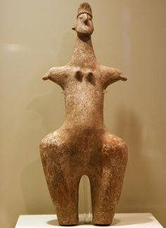 Steatopygous female figure of Marlik, Iran.HISTORY OF EARLY CIVILIZATION DATED CIRCA 2ND MILLENIUM BC