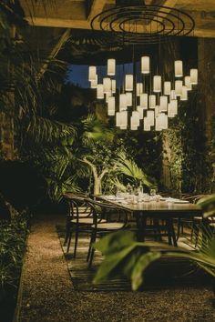 Pendant lamps Cirio Chandelier_Santa&Cole
