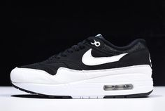 low priced d2c52 8676a Nike Air Max 1 Black White 319986-034 For Sale nike nikes