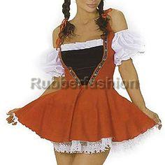 Sexy Dirndl Trachtenkleid mit Ärmlingen #Sexy #Dirndl #Tracht #Kleid #Kostüm #Gogo #Karneval #FASCHING 23.92 EUR inkl. 19% MwSt. zzgl. Versand