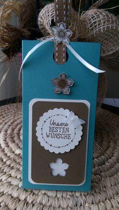 Geschenkverpackungen - Ziehschokoladenverpackung incl. 1 Lindt Schoki  - ein Designerstück von Mein-Kreativpoint bei DaWanda