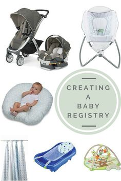 Baby Registry Must Have Items   PB Fingers