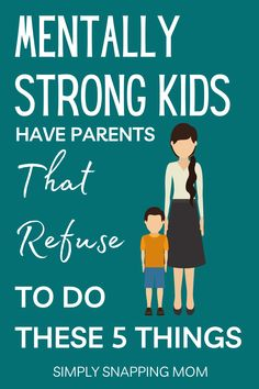 Parents of resilient and mentally strong kids refuse to do these 5 things. It's proven that these common parenting mistakes will hurt your kid's developing emotional intelligence and mental strength. Raise motivated and happy kids with these positive discipline tips and parenting advice that will improve your kid's behavior- now and when they grow up! Great for toddlers, teens, and everything in between! Be a better mom with these great tips. Mentally Strong, Mental Strength, Parenting Articles, Positive Discipline, Kids Behavior, Mom Advice, Emotional Intelligence, Happy Kids, Mom Humor