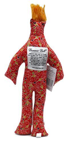 Dammit Dolls - Red Print  - $14.99