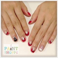Chinese New Year nails #paintshoppenails #eastcoastroad #singapore #nails #nailart #manicure #pedicure