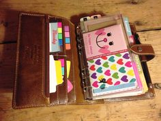 Filofax Set Up