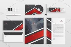 Corporate Stationery Pack by BettyDesign on https://creativemarket.com/BettyDesign/1144586-Corporate-Stationery-Pack