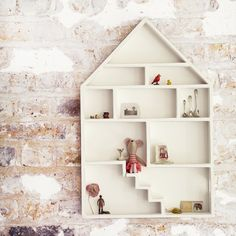 wall-mounted dollhouse