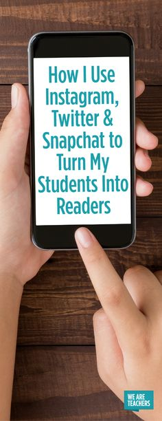 Meet them where they are. How to incorporate social media into your ELA classroom! Fluency Activities, Library Activities, Library Science, Teaching Technology, Educational Technology, Middle School Libraries, Elementary Library, We Are Teachers, Media Literacy