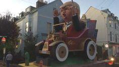 Revellers descend on Lewes for bonfire celebrations