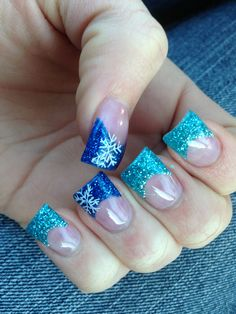 My winter nails 2014.