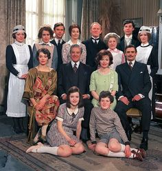 Upstairs Downstairs from the end of the Great War and the Spanish Flu epidemic through to Georgina's wedding.