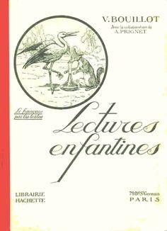 Bouillot, Lectures enfantines CP (1910-1920)