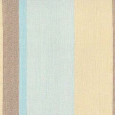 Pascal Aqua Brown. Available printed on linen, cotton, cotton linen blends. © Ellen Eden