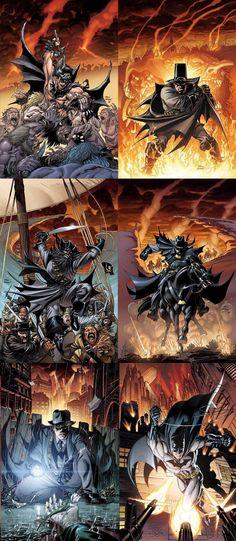 Batman throughout history