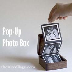 DIY Garden and Crafts - Pop-Up Photo Box (Gift Idea)