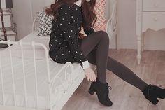 Una Sencilla Vestimenta.        Algo mas Común en Corea es Usar faldas cortas.        Un Lindo Conjunto para salir con tu Pareja.    ...