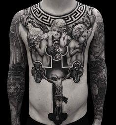 B&G Tattoo Artwork Artist IG: (Work in progress) Jesus Tattoo, Tattoo Son, Tattoo Henna, Hand Tattoos, Life Tattoos, Body Art Tattoos, Tattoos For Guys, Brust Bauch Tattoo, Bauch Tattoos
