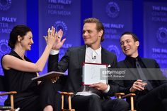 Actors Caitriona Balfe Sam Heughan and Tobias Menzies attend The... News Photo | Getty Images