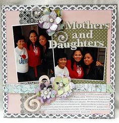 Mothers and Daughters Layout