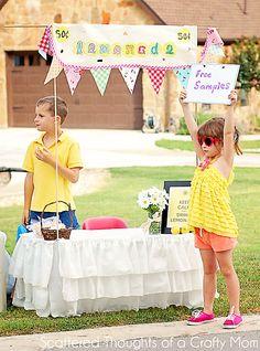 Summer Camp: Easy DIY Lemonade Stand - Design Dazzle