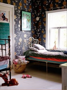 """This enchanting childrens bedroom is from our feature """"Perfectly Finnish"""""""