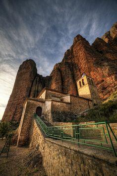Mallos de Riglos, Aragon, Spain ✯ ωнιмѕу ѕαη∂у